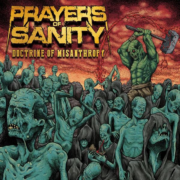 Doctrine of Misanthropy by PRAYERS OF SANITY   Music   Rastilho Records